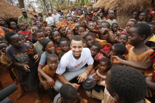 Nothing But Nets: Steph Curry