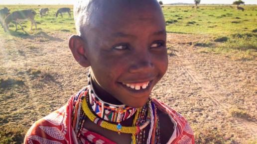 Kenyan Girl Smiling