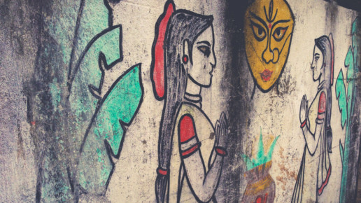 India Mural