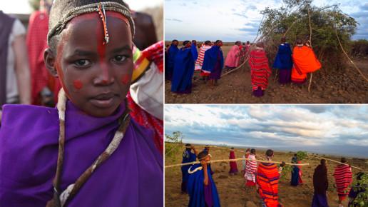 Kenyan Girl Facing Camera