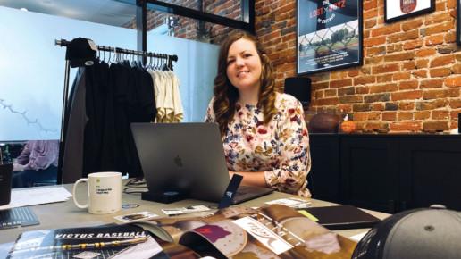 Graphic Designer Monica Grevera