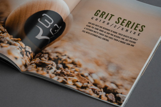 Grit Series knob sticker